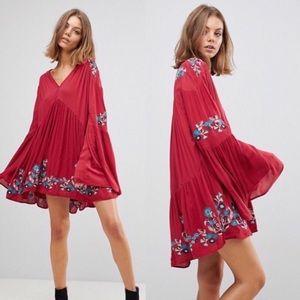 Free People Te Amo Dress Medium